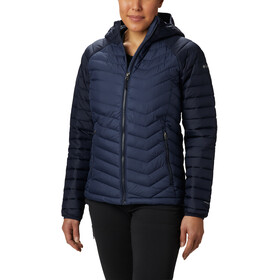Columbia Powder Lite Kapuzenjacke Damen nocturnal/dark nocturnal